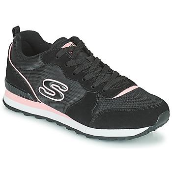 Skor Dam Sneakers Skechers OG 85 Svart / Rosa