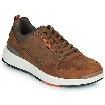 Skor Herr Sneakers Skechers FAIRLINE Brun