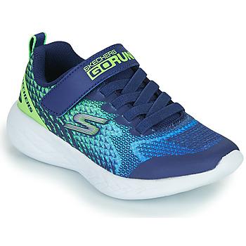 Skor Pojkar Sneakers Skechers GO RUN 600 Blå / Grön