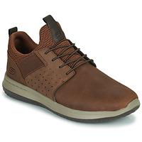 Skor Herr Sneakers Skechers DELSON AXTON Brun