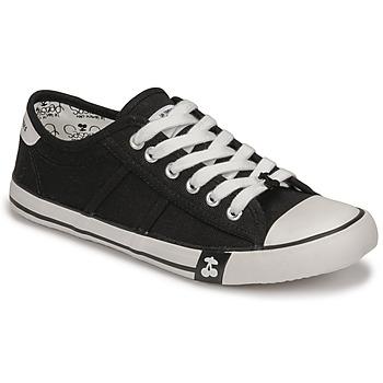 Skor Dam Sneakers Le Temps des Cerises EASY Svart