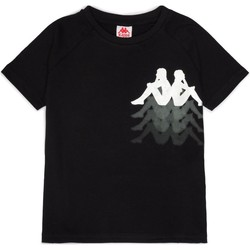 textil Flickor T-shirts Kappa 31165QWY Nero/argento