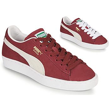 Skor Sneakers Puma SUEDE Bordeaux