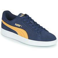 Skor Herr Sneakers Puma SMASH Blå / Beige