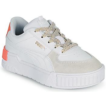 Skor Flickor Sneakers Puma CALI SPORT PS Vit / Rosa