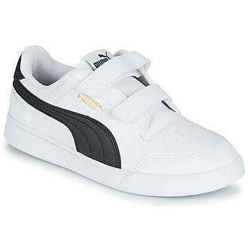 Skor Barn Sneakers Puma SHUFFLE PS Vit / Svart