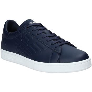 Skor Herr Sneakers Ea7 Emporio Armani X8X001 XCC51 Blå