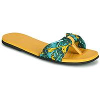 Skor Dam Flip-flops Havaianas YOU SAINT TROPEZ Gul / Guldfärgad