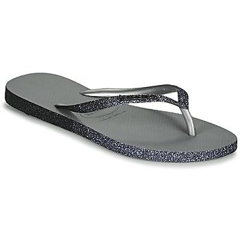 Skor Dam Flip-flops Havaianas SLIM SPARKLE II Grå