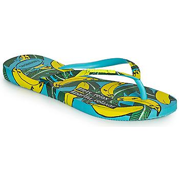 Skor Dam Flip-flops Havaianas SLIM SUMMER Blå