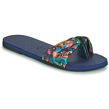 Skor Dam Flip-flops Havaianas YOU SAINT TROPEZ Blå