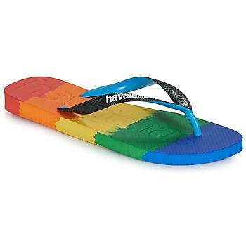 Skor Flip-flops Havaianas TOP LOGOMANIA MULTICOLOR Flerfärgad