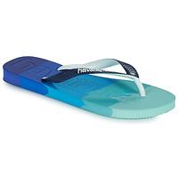Skor Flip-flops Havaianas TOP LOGOMANIA MULTICOLOR Marin