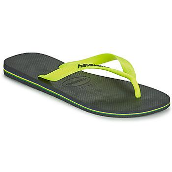 Skor Herr Flip-flops Havaianas BRASIL LOGO Grå