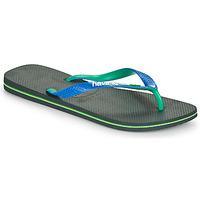 Skor Herr Flip-flops Havaianas BRASIL MIX Svart / Blå