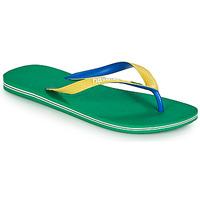 Skor Flip-flops Havaianas BRASIL MIX Grön