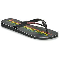 Skor Herr Flip-flops Havaianas TOP LOGOMANIA Svart