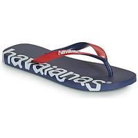 Skor Flip-flops Havaianas TOP LOGOMANIA HIGHTECH Blå