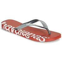 Skor Flip-flops Havaianas TOP LOGOMANIA HIGHTECH Röd