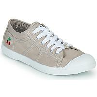 Skor Dam Sneakers Le Temps des Cerises BASIC LACE Beige