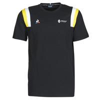 textil Herr T-shirts Le Coq Sportif RENAULT FANWEAR 20 Tee SS M Svart