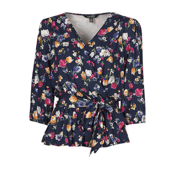 textil Dam T-shirts Lauren Ralph Lauren SHIANETA Flerfärgad