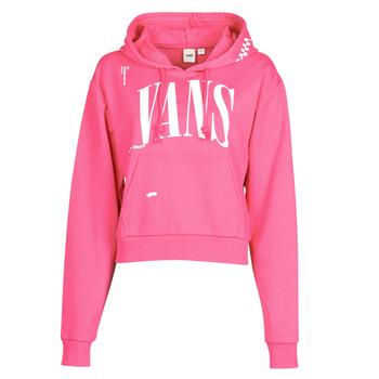 textil Dam Sweatshirts Vans WM KAYE CROP HOODIE Rosa