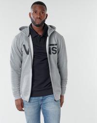 textil Herr Sweatshirts Vans VANS CLASSIC ZIP HOODIE Cement / Svart