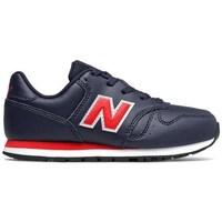 Skor Pojkar Sneakers New Balance 373 Svarta, Röda