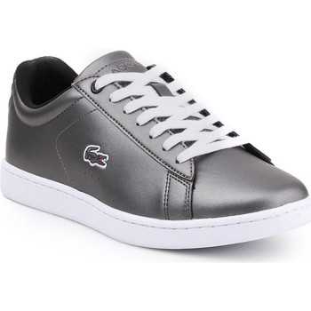 Skor Dam Sneakers Lacoste Carnaby Evo 317 Silver