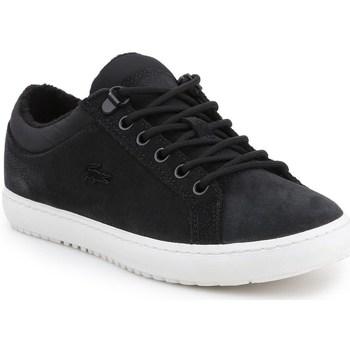 Skor Dam Sneakers Lacoste Straightset Insulate Svarta