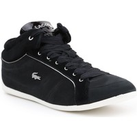 Skor Dam Sneakers Lacoste Missano Mid Svarta