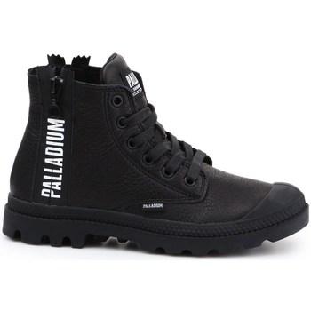 Skor Dam Höga sneakers Palladium Pampa Ubn Zips Svarta