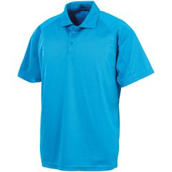 textil Kortärmade pikétröjor Spiro SR288 Havsblått