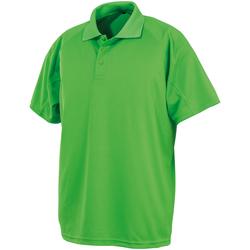 textil Kortärmade pikétröjor Spiro SR288 Lime Punch