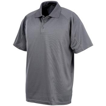 textil Kortärmade pikétröjor Spiro SR288 Grått