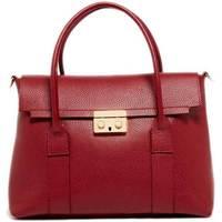 Väskor Dam Handväskor med kort rem Maison Heritage AMY BORDEAUX