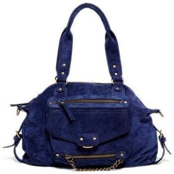 Väskor Dam Handväskor med kort rem Abaco Paris MINI ODELIA bleu