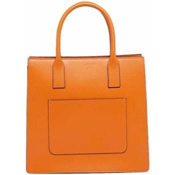 Väskor Dam Handväskor med kort rem Abaco Studio LOU orange