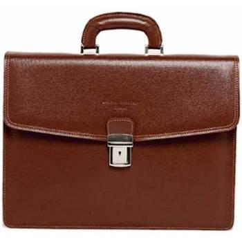 Väskor Portföljer Maison Heritage IAN marron