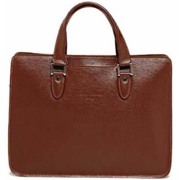Väskor Portföljer Maison Heritage KENJI marron