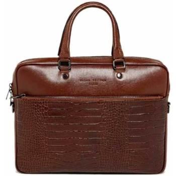 Väskor Portföljer Maison Heritage ALAN marron