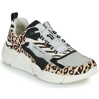Skor Dam Sneakers Skechers BLOCK - WEST Beige