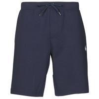 textil Herr Shorts / Bermudas Polo Ralph Lauren SHORT DE JOGGING EN DOUBLE KNIT TECH LOGO PONY PLAYER Marin