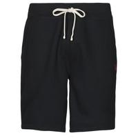 textil Herr Shorts / Bermudas Polo Ralph Lauren SHORT MOLTONE EN COTON LOGO PONY PLAYER Svart