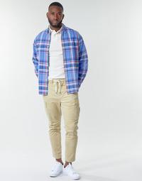 textil Herr Cargobyxor Polo Ralph Lauren SHORT PREPSTER AJUSTABLE ELASTIQUE AVEC CORDON INTERIEUR LOGO PO Beige