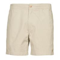 textil Herr Shorts / Bermudas Polo Ralph Lauren SHORT PREPSTER AJUSTABLE ELASTIQUE AVEC CORDON INTERIEUR LOGO PO Beige