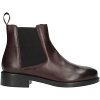 Skor Dam Boots Frau 98L3 Bordeaux