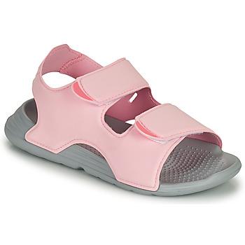 Skor Flickor Sandaler adidas Performance SWIM SANDAL C Rosa