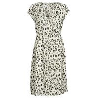 textil Dam Korta klänningar See U Soon 21122122 Beige / Kaki